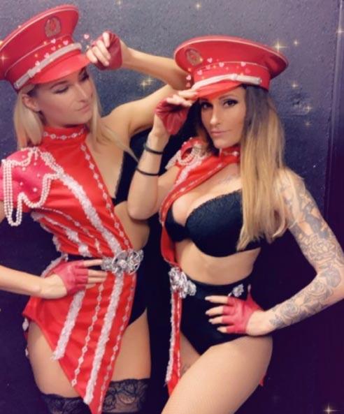 Gogos danseuses thème russe