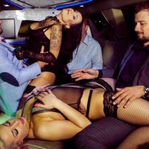 Stripteaseuses en limousine Île-de-France